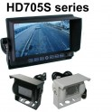 High resolution 7 inch colour rear view monitor and standard CCD reversing camera